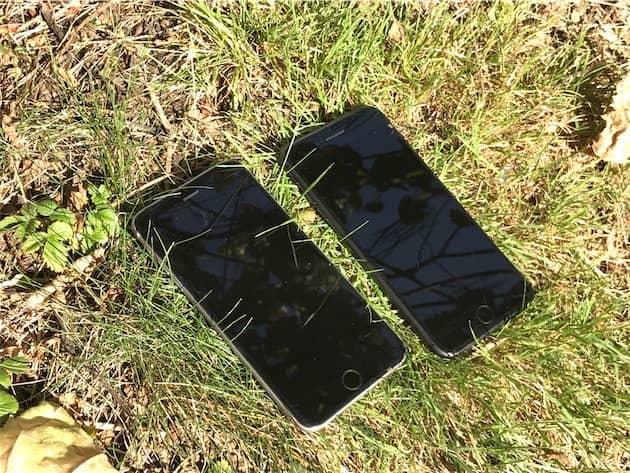 Un iPhone 6 Plus et un iPhone 8 Plus sur cette photo : saurez-vous trouver où est chaque modèle ? Cliquer pour agrandir