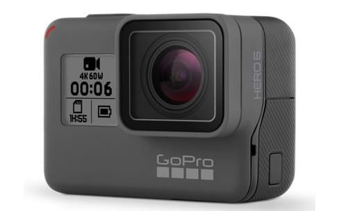 Hero6 Black : une nouvelle GoPro qui filme en 4K à 60 i/s