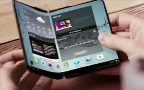 Le smartphone pliable de Samsung d'ici la fin de l'année ?