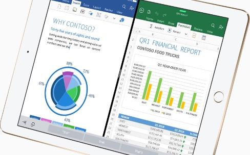 Le glisser-déposer et la vue mobile bientôt dans OfficepouriOS