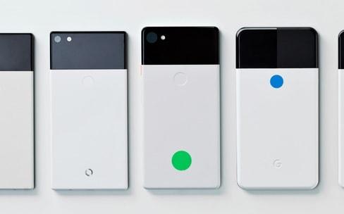 Des prototypes de Pixel 2 dévoilés par Google