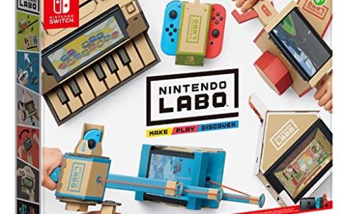 Les Toy-Con en carton pour la Nintendo Switch sont en précommande
