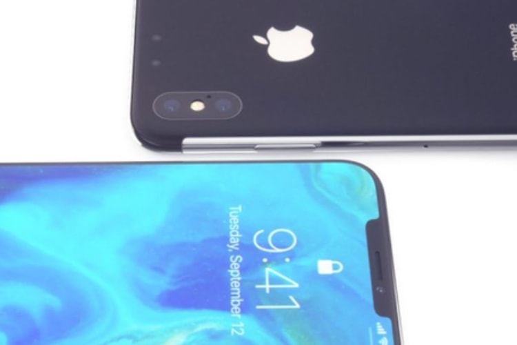 Un concept un peu fantaisiste d'iPhone X 2018