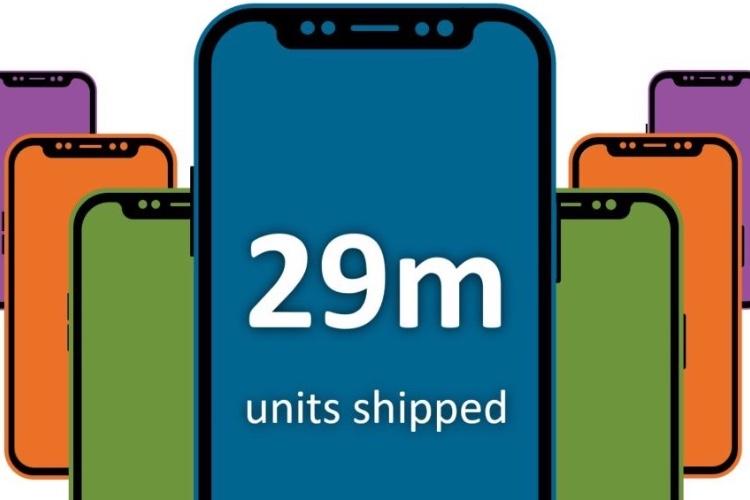 iPhone X : Canalys part sur 29millions d'unités vendues