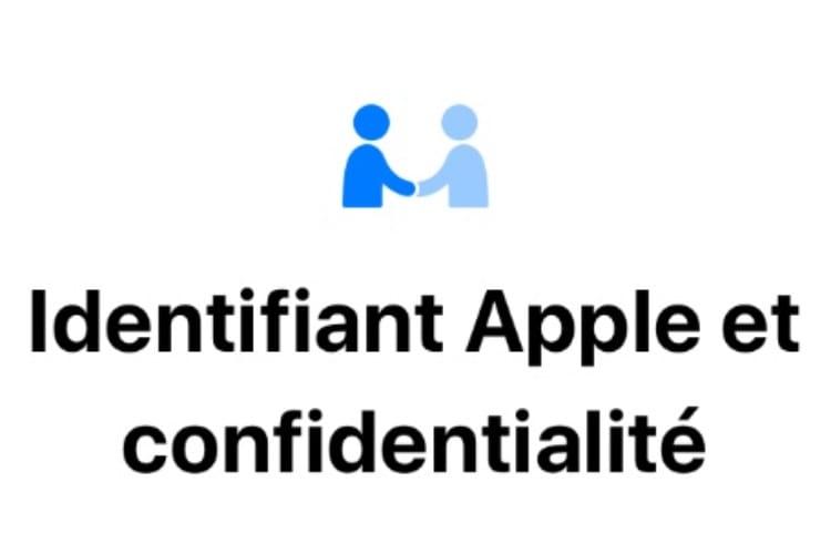 La nouvelle icône Confidentialité d'Apple en action
