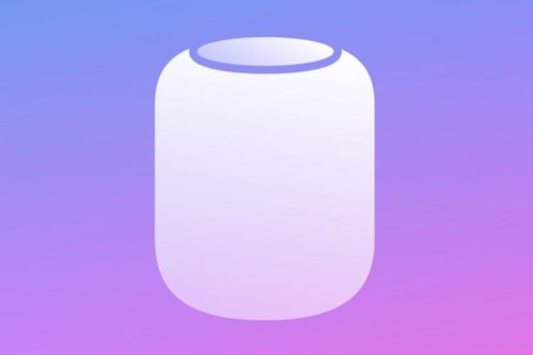 Le HomePod pourra être mis à jour via l'app Maison