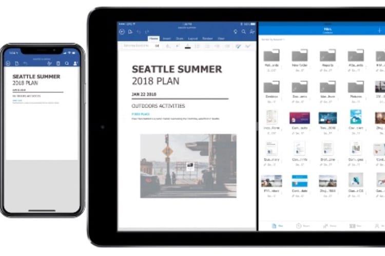 Sur iOS aussi, Office est plus collaboratif