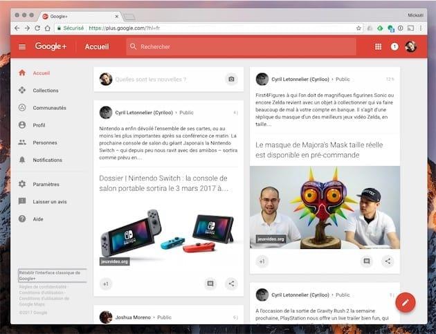 Google ferme Google+ sur fond de faille de sécurité