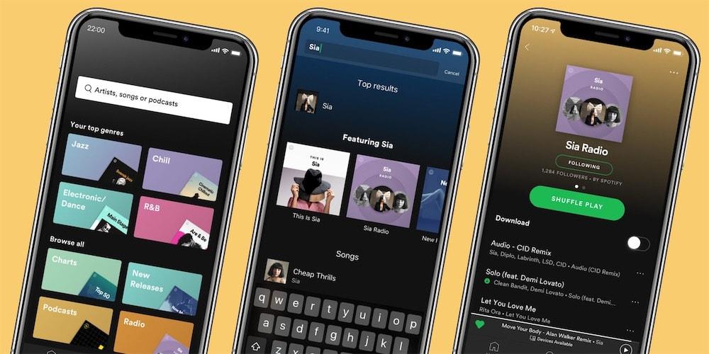 Nouveau design et nouvelles fonctionnalités déployées — Spotify Premium