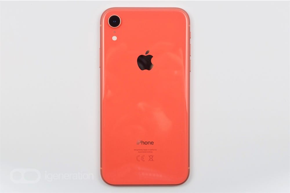 coque iphone xr rose pale