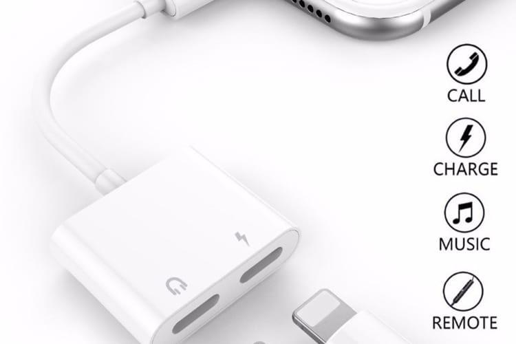 Promos: un dédoubleur Lightning pour iPhone 7,6€ et un film protecteur pour iPhoneX à 6€