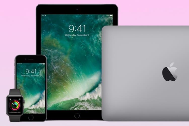 Bourgeonnement à prévoir d'iPhone, d'iPad et de MacBook au printemps