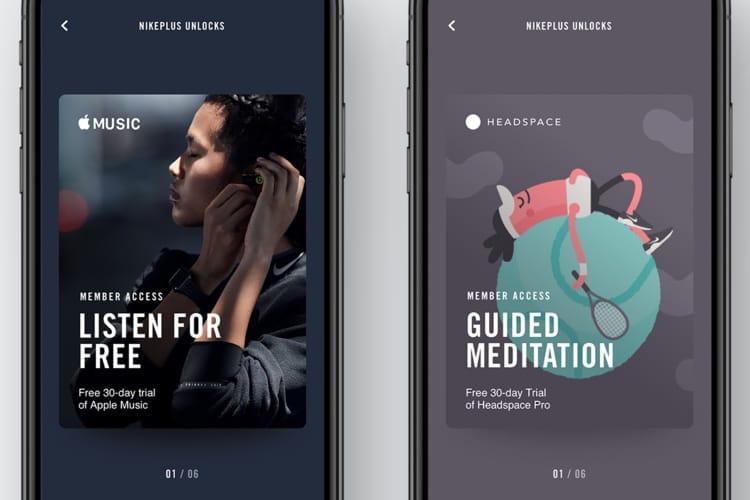 NikePlus fait gagner des mois gratuits Apple Music