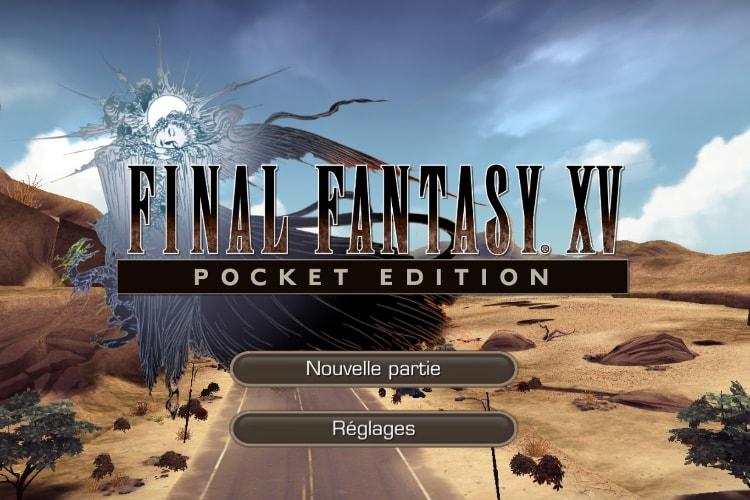 Final Fantasy XV Pocket Edition maintenant disponible sur iOS