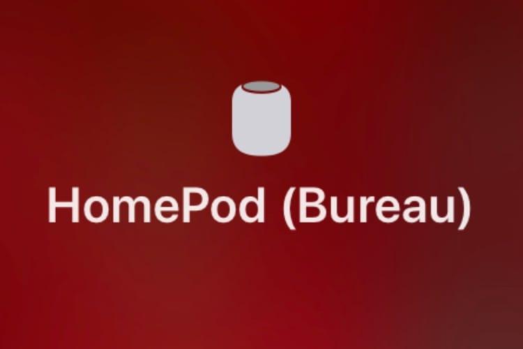 HomePod : coup d'œil et d'oreille sur les réglages