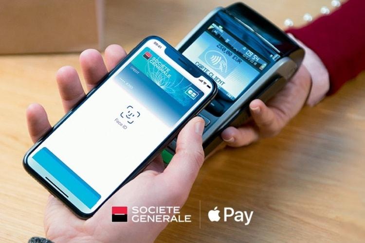 Apple Pay maintenant pris en charge par la Société Générale