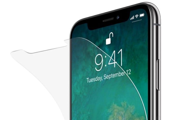 Apple Store : retour du film de protection Belkin pour l'iPhone X, et de nouveaux étuis