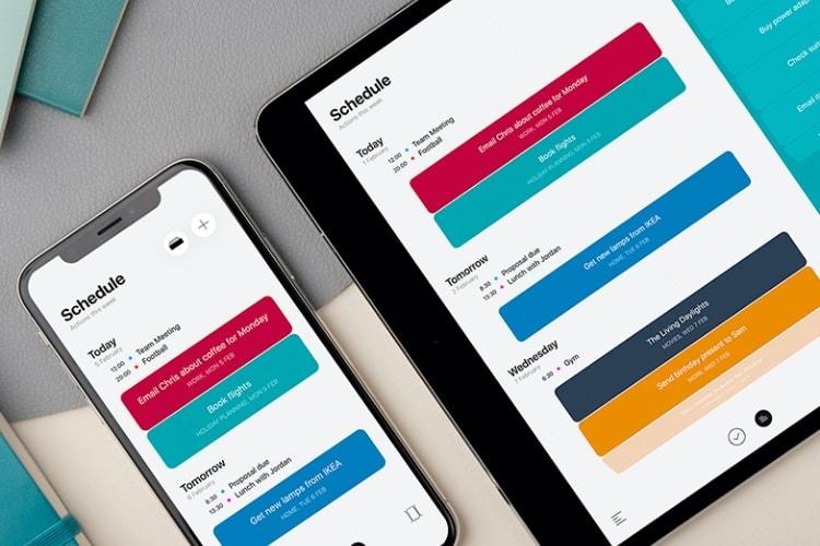 Actions, un nouveau gestionnaire de tâches sur iOS par Moleskine