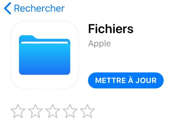iOS 11.3 : apparition inattendue de mises à jour indépendantes pour les apps Fichiers et Musique