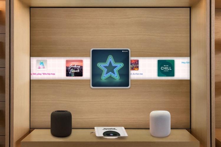 La présentation des HomePod en AppleStore gagnerait às'améliorer
