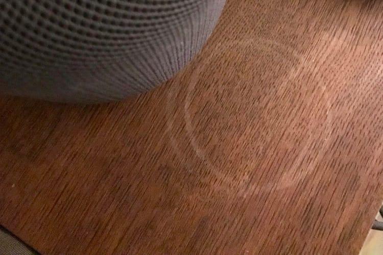 Les traces blanches du HomePod pourraient facilement être de l'histoire ancienne