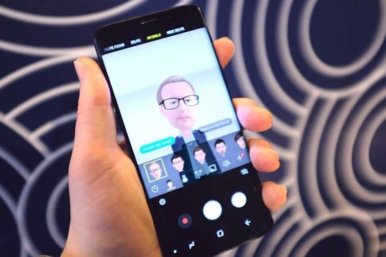 Avec les AR Emojis, Samsung traverse la vallée de l'étrange