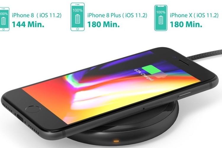 Promos: une batterie USB RAVPower de 26800mAh à 35€ et un chargeur Qi rapide pour les iPhone à 28€