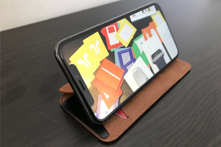 Prise en main de l'étui SurfacePad pour iPhone X de Twelve South