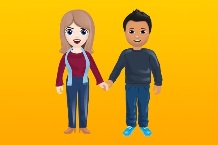 Tinder veut des émojis pour les couples mixtes