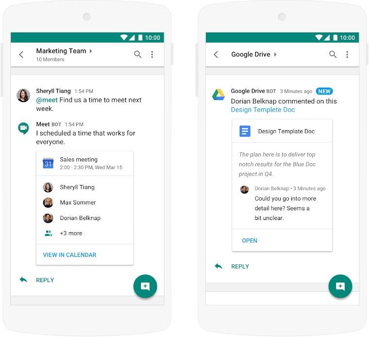 Hangouts Chat : le Slack de Google passe à l'échelle