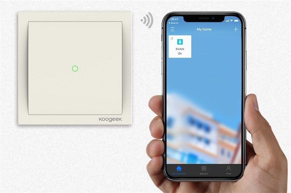 Des Interrupteurs Muraux Compatibles Homekit En Vente à