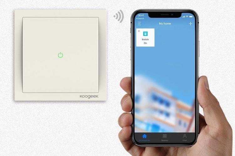 Des interrupteurs muraux compatibles HomeKit en vente à partir de 39,99€