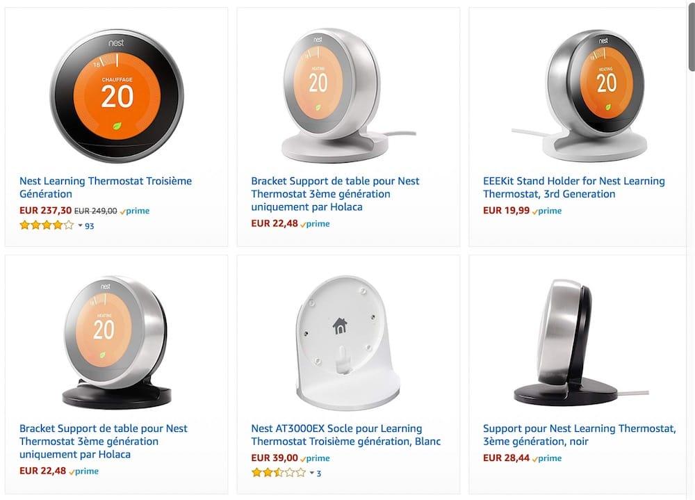 Amazon : les produits Nest en voie de disparition