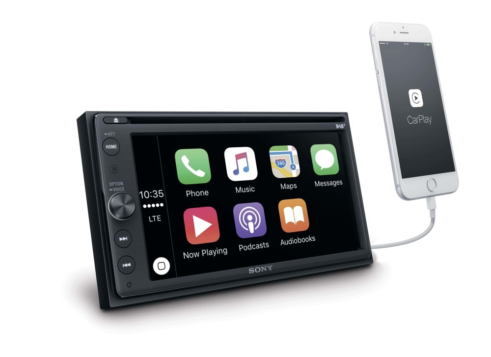 un nouvel autoradio sony compatible carplay et rnt en mai igeneration. Black Bedroom Furniture Sets. Home Design Ideas