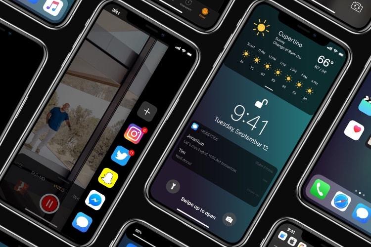 Un concept d'iOS 12 inspiré par Samsung