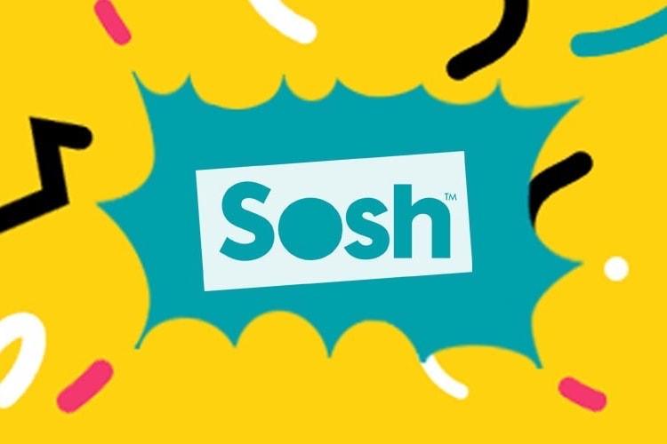 Le forfait Sosh 20 Go en promo à 4,99€/mois pendant un an