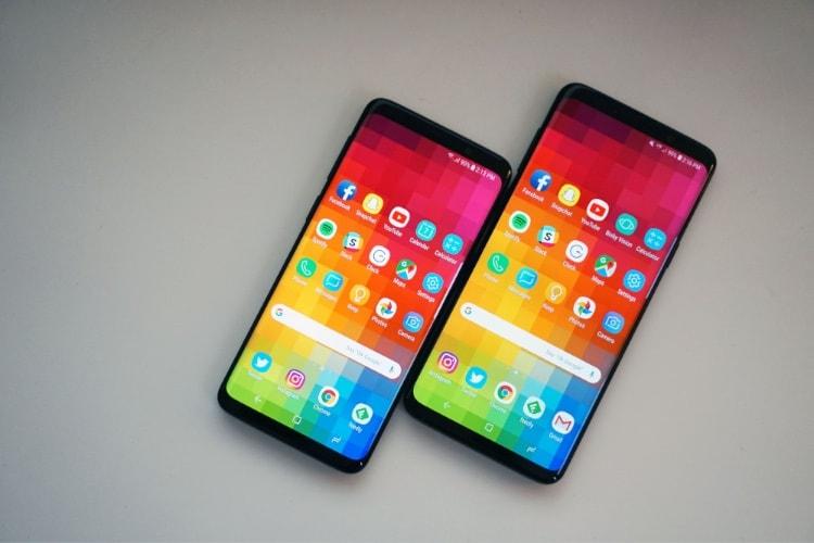 Revue de tests: Galaxy S9, une révision en douceur