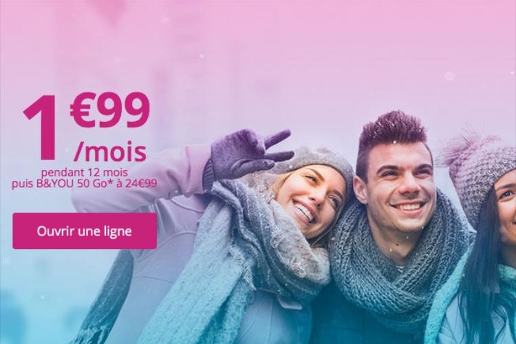 Promo: 20Go de 4G chez Bouygues pour 2€ par mois