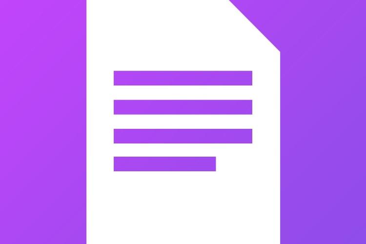 Textor se présente comme le TextEdit d'iOS
