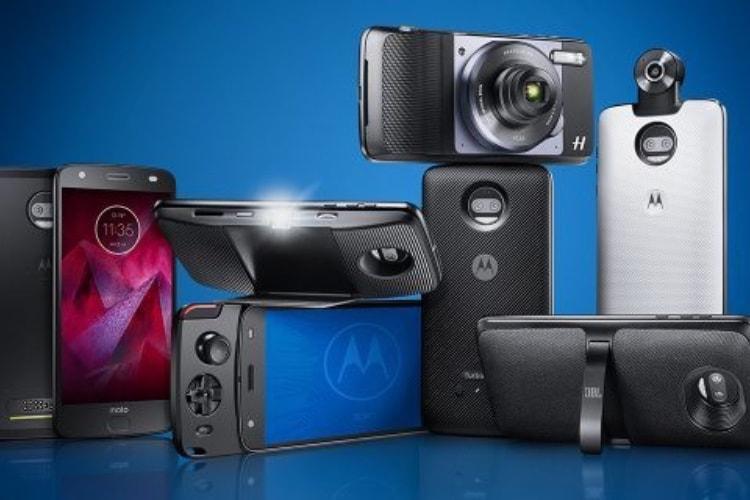 Motorola rationaliserait les Mods de ses téléphones modulaires