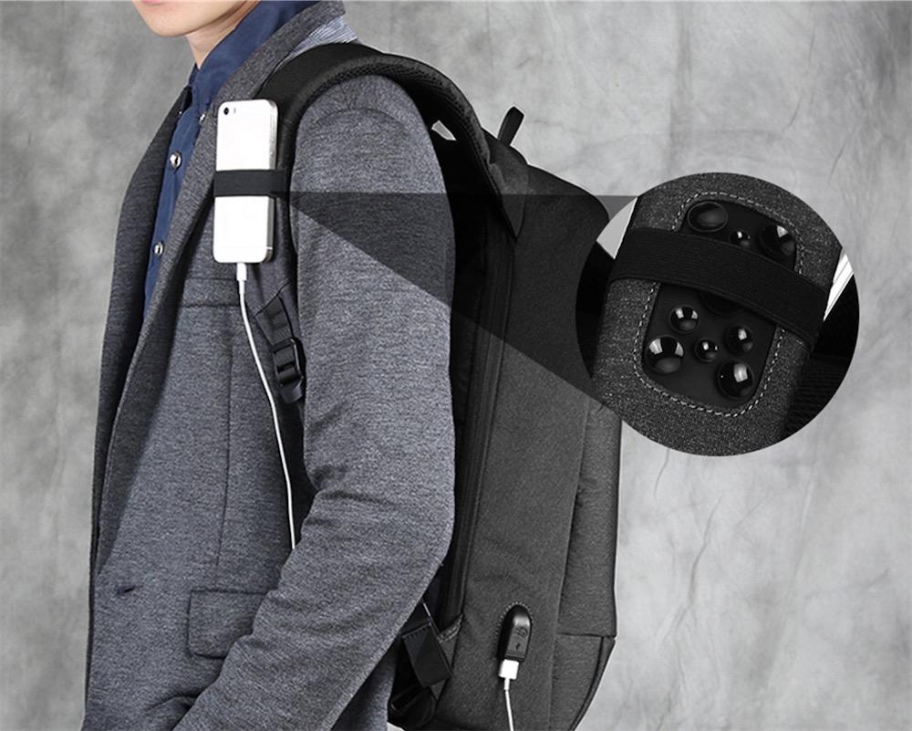 Promos : un sac à dos avec prise USB à 31,5 € et un support