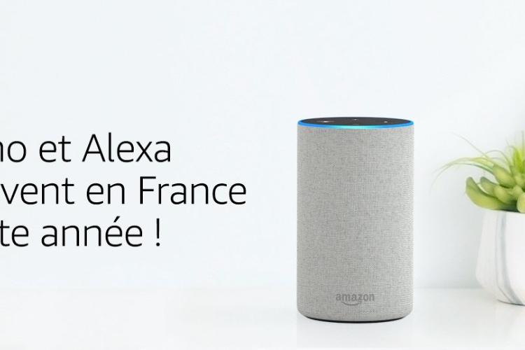 Amazon annonce l'arrivée d'Alexa en France