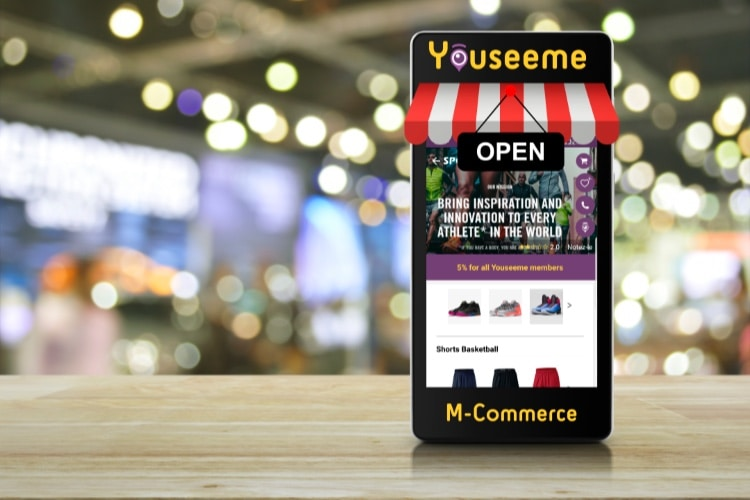 Youseeme : l'application mobile dédiée aux commerçants