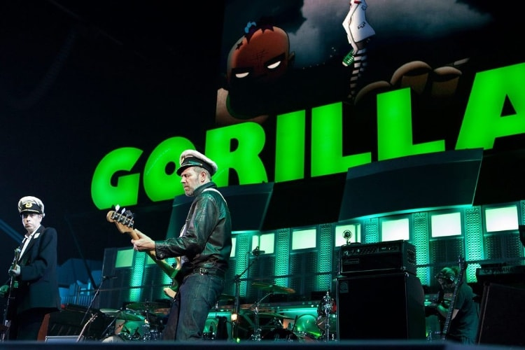 Un concert de Gorillaz en binaural sur myCanal