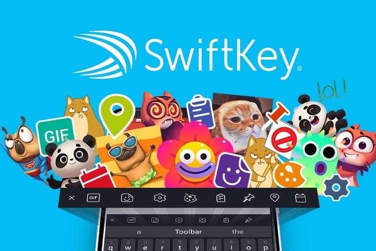 Nouvelle boîte à outils pour le clavier alternatif SwiftKey