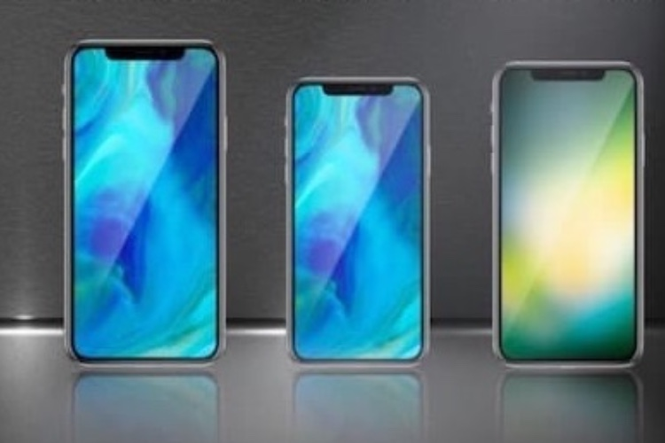iPhone 2018, des commandes d'écrans réparties entre trois diagonales