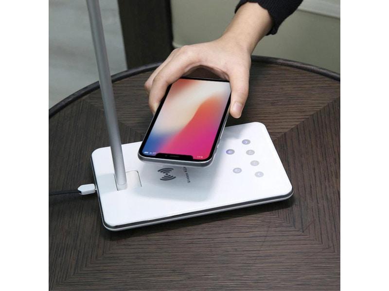 Tablelight une lampe de bureau avec chargeur induction igeneration - Ikea chargeur induction ...