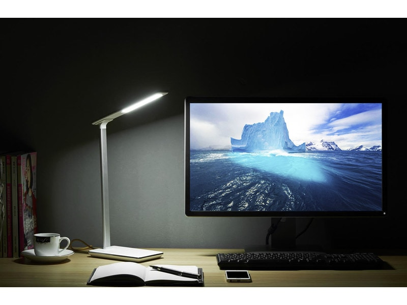 tablelight une lampe de bureau avec chargeur induction igeneration. Black Bedroom Furniture Sets. Home Design Ideas