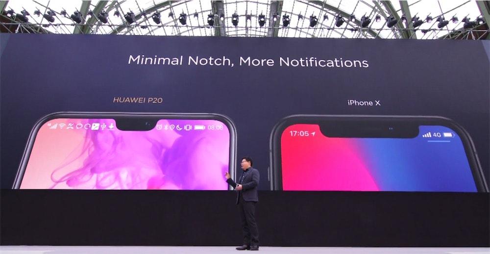iPhone X son plus gros problème résolu par Huawei