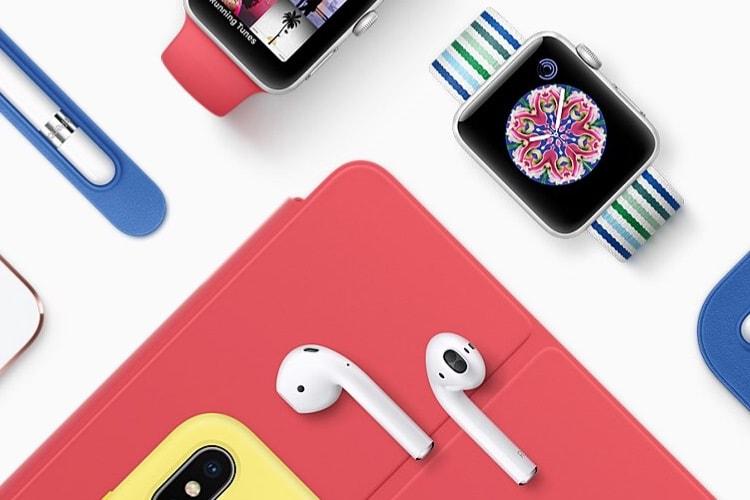 Accessoires Apple pour iPhone / iPad: les couleurs de printemps sont là